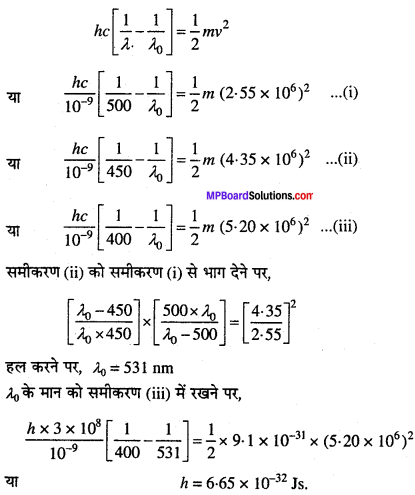 MP Board Class 11th Chemistry Solutions Chapter 2 परमाणु की संरचना 23