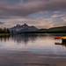 Maligne Lake - Sunset