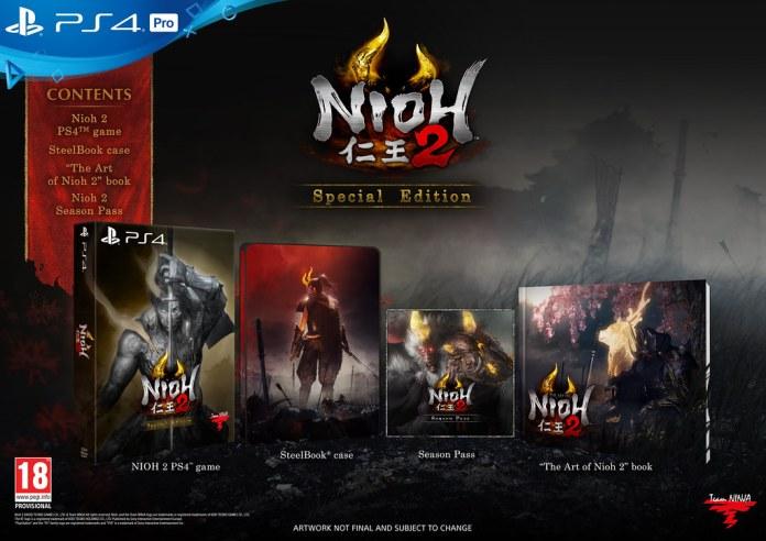 Nioh 2 on PS4
