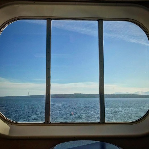 Current window to the world. @bcferries #explorevancouverisland