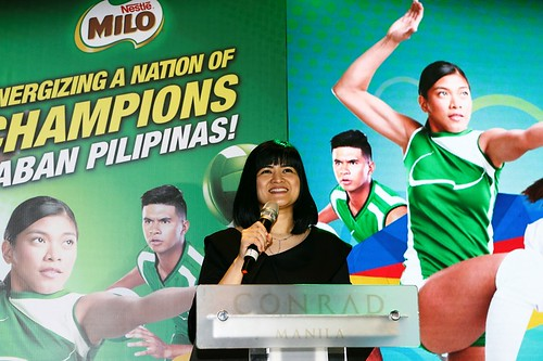Veronica Cruz Nestle Philippines MILO VP