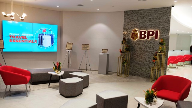 BPI Makati Main Personal Banking section