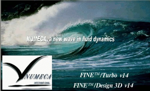 NUMECA FINE-Turbo 14.1 x64 full license