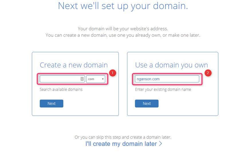 hướng dẫn đăng ký hosting tại Bluehost