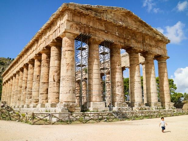 Templo griego en Segesta