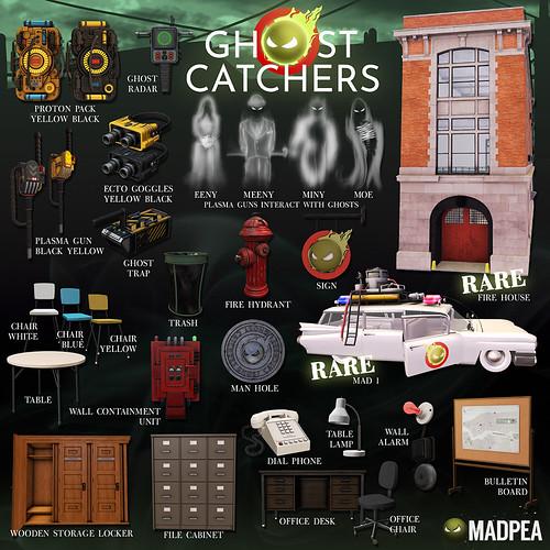 MadPea's Ghost Catchers Gacha Key - 6 Republic!