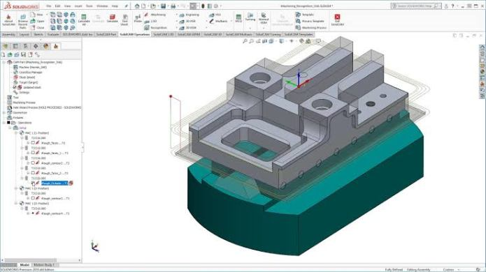 programming with SolidCAM 2019 SP2 HF4 for SolidWorks 2012-2020 full
