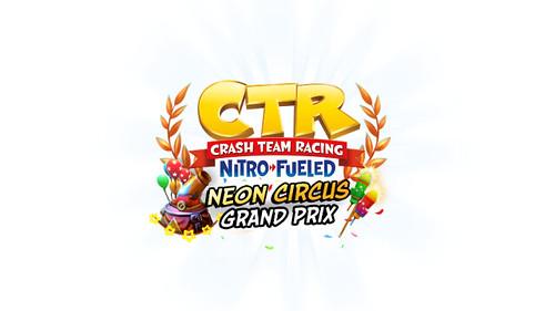 CTR - Neon Circus Grand Prix - Logo