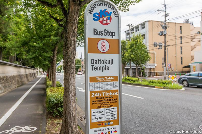 Autobús Turístico De Kioto Skyhop Bus Itinerarios Y
