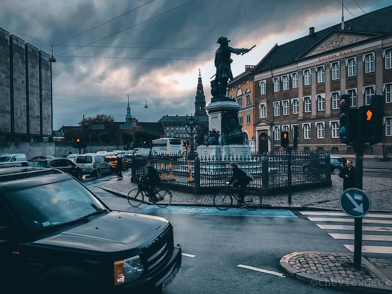 Danske Bank HQ at Holmen's Canal in Copenhagen