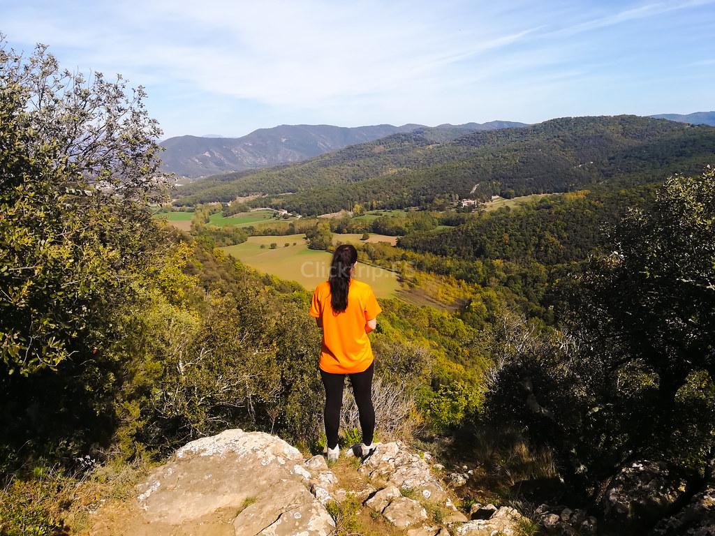Mirador del Petró - Ruta dels Gorgs del Torrent del Puig - Garrotxa