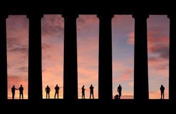 Monument Men sunrise.