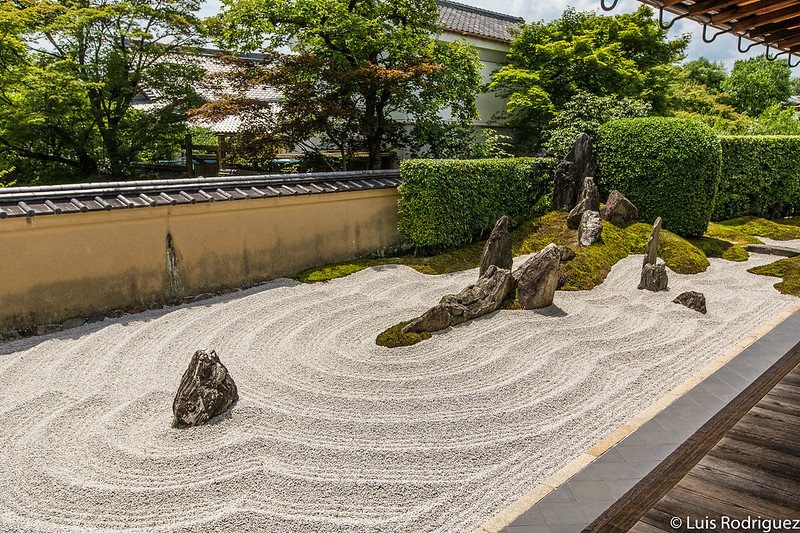 Jardín zen del complejo Daitoku-ji de Kioto
