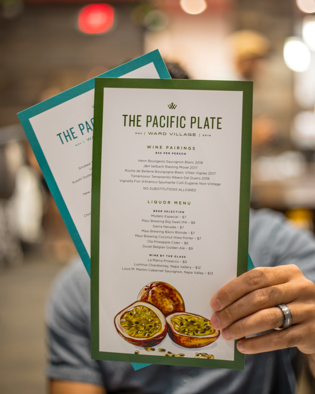 The Pacific Plate by Ward Village