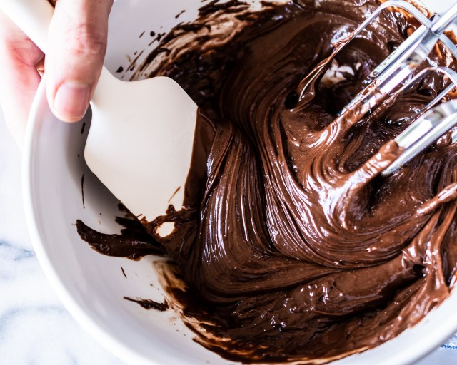 ripples of chocolate
