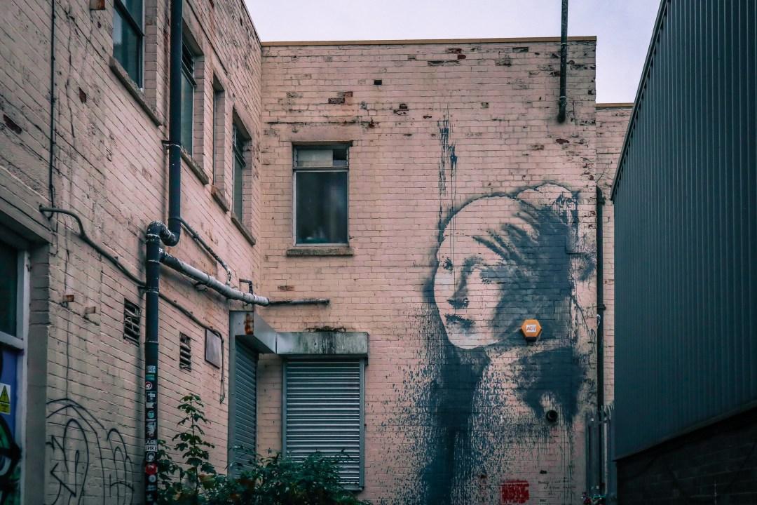 Girl wth the Pierced Eardrum, Banksy