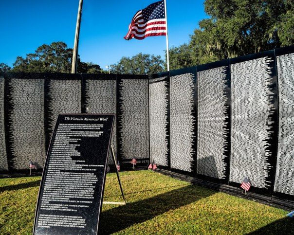Travelling Vietnam Memorial Wall