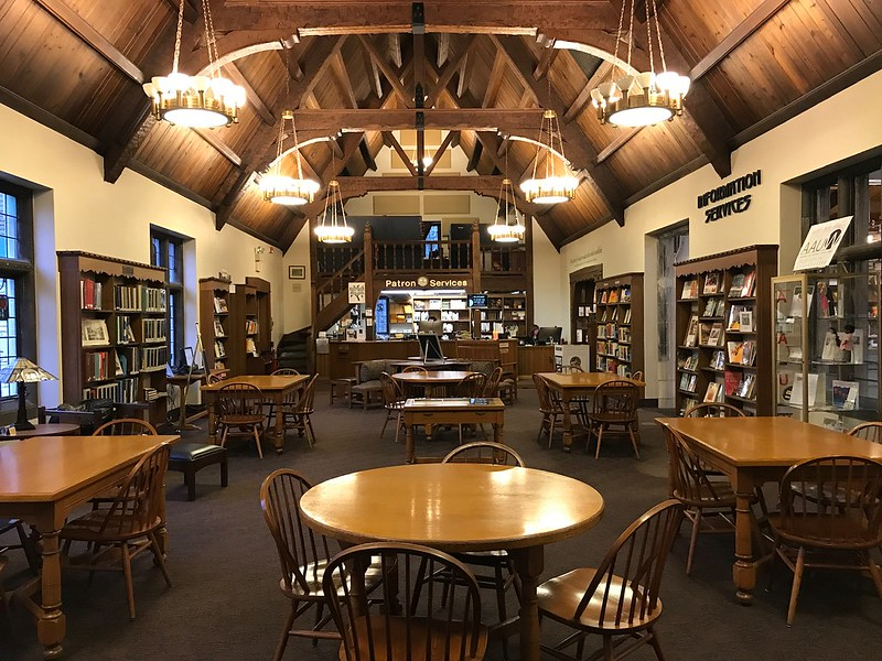 Riverside Public Library - downstairs