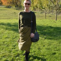 Outfit of the week: Green dress (part II)