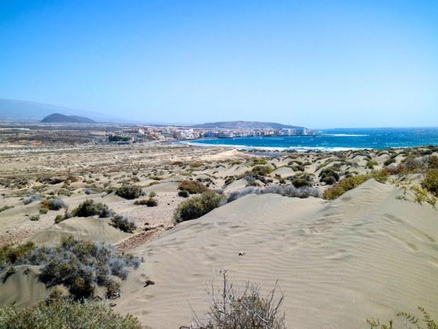 Arenales en El Médano en Tenerife