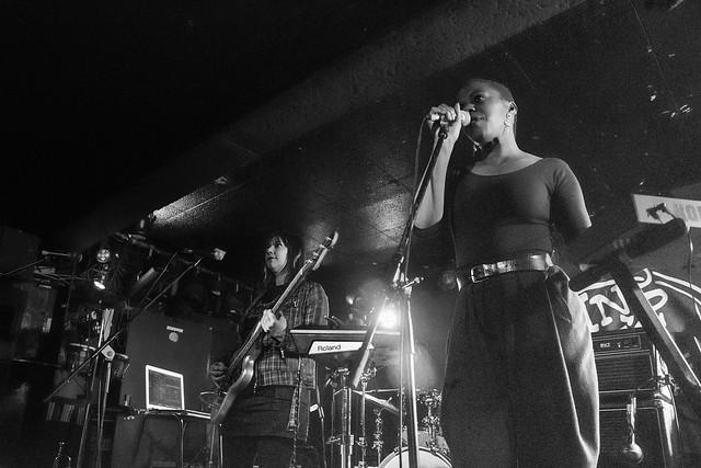 Sink Ya Teeth - King Tuts Glasgow supporting A Certain Ratio