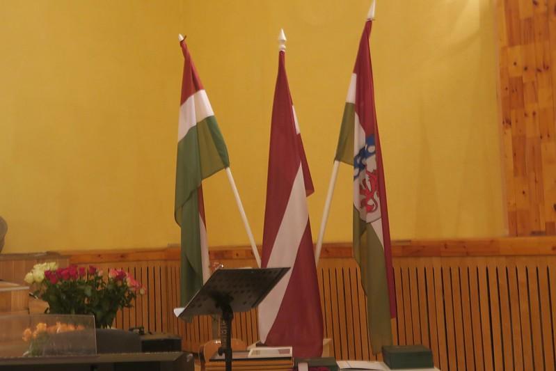 Latvijas Republikas 101 gadadienai veltītais svinīgais pasākums Jaunjelgavā