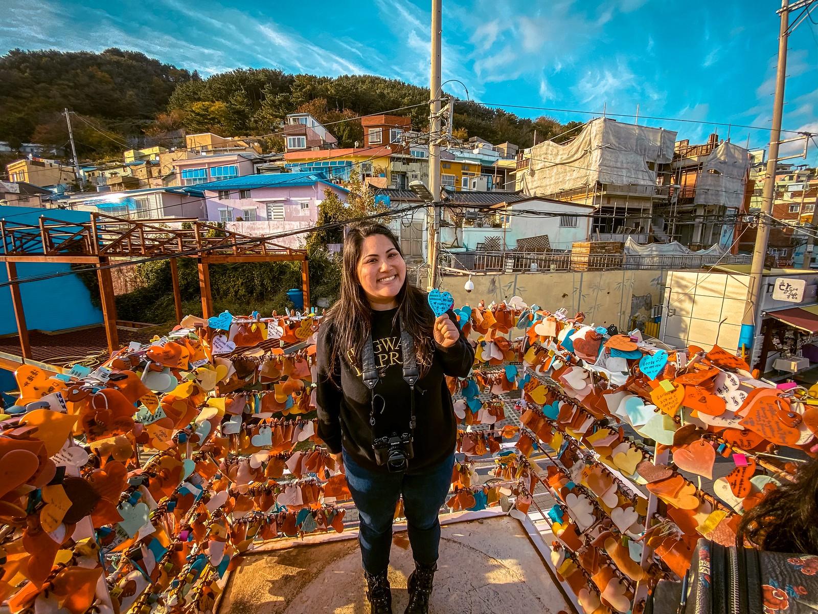 Heart Locks   Gamcheon Culture Village