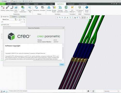 Working with PTC Creo paramatric 6.0.3.0 x64 full license