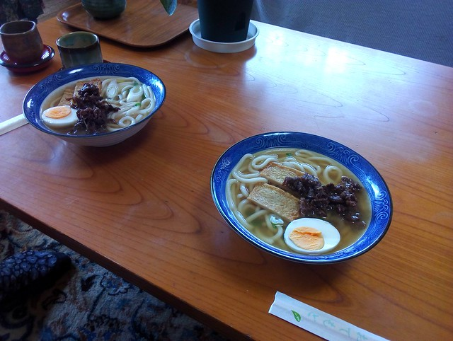 Really?  Our third lunch in Japan was also ramen because that's what Miyako offered and made us by bryandkeith on flickr