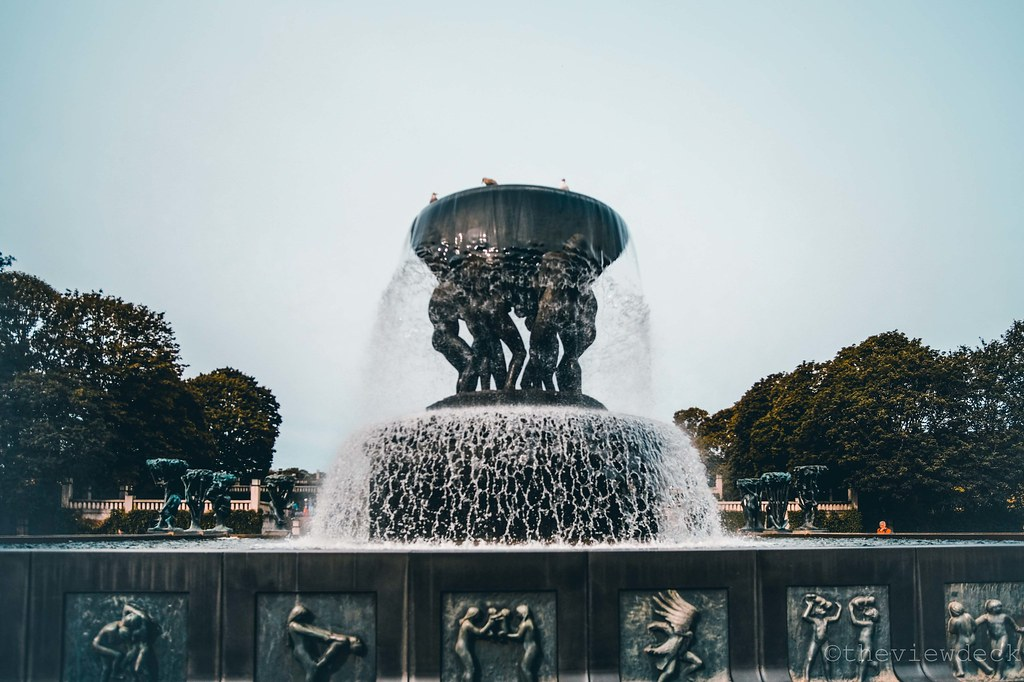 The Fountain at Frogner Park