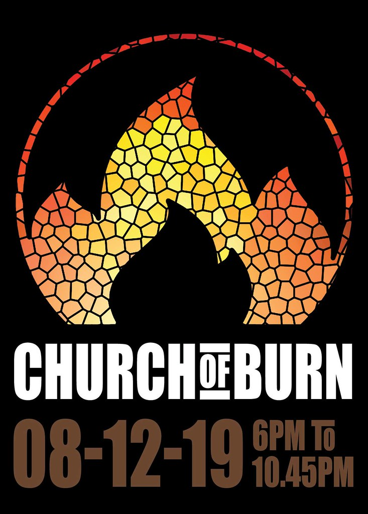 Church of Burn - Put your money where your mind is - Sunday 8th Dec 2019 - Annual Ritual Mass Money Burn Event