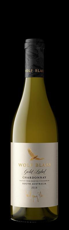 Wolf Blass Gold Label Chardonnay 2018_Bottle Shot
