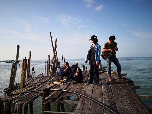 【2019再訪馬來西亞雙溪大年、檳城】檳城巴巷漁村、E&O飯店外海堤
