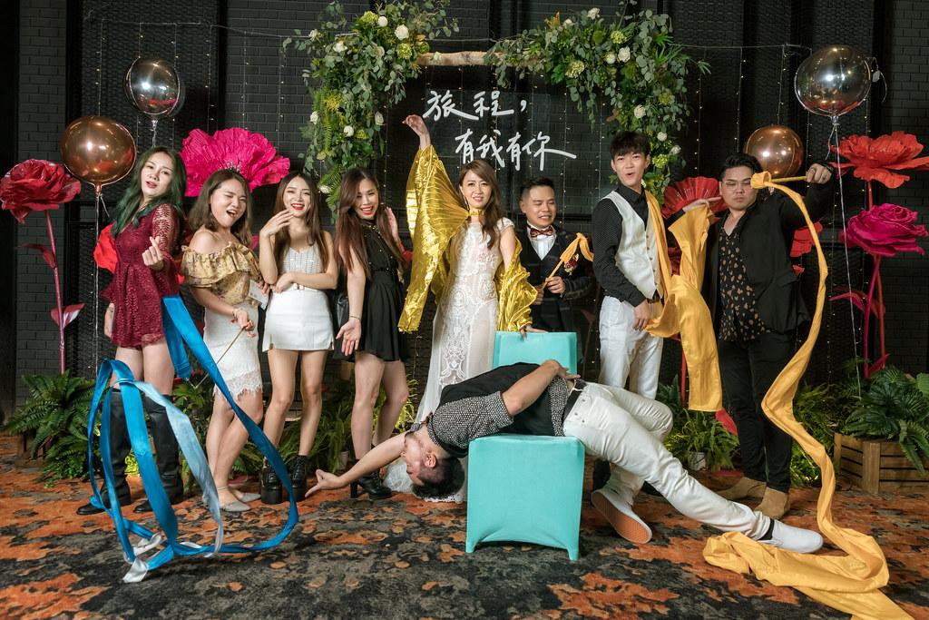 高雄婚攝/高雄晶綺盛宴婚禮紀錄 -孟倫&奕琦