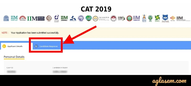 CAT official answer key