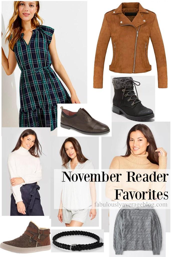 November Top Sellers