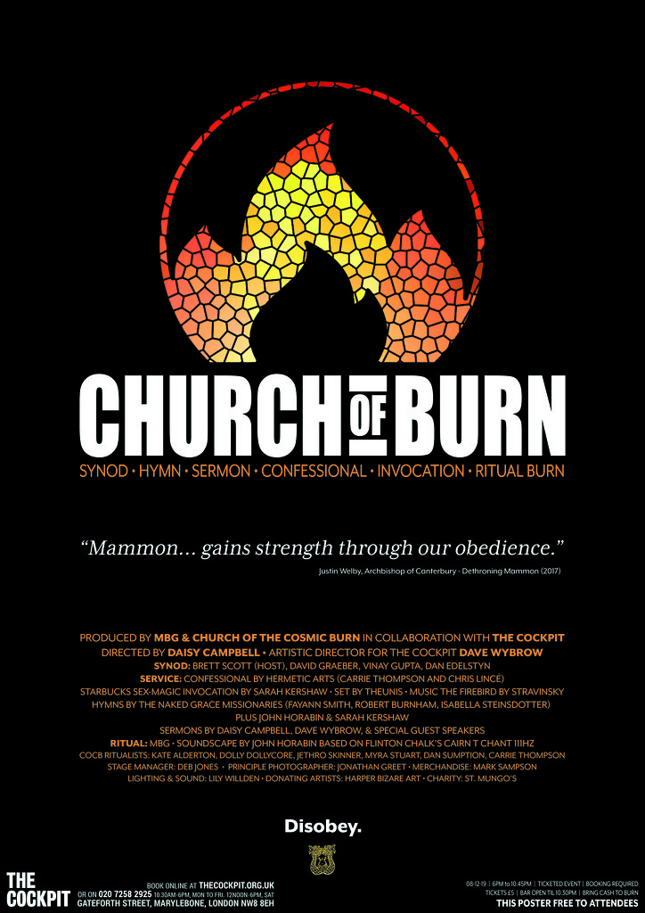 Church of Burn Poster
