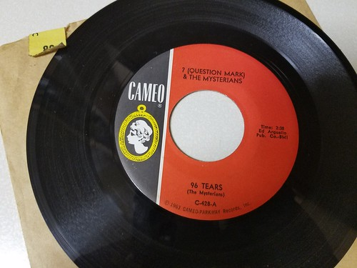 96 Tears - ? and the Mysterians 45 RPM