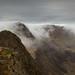 Dave Dear on the West Peak of Y Lliwedd - Snowdonia - Wales