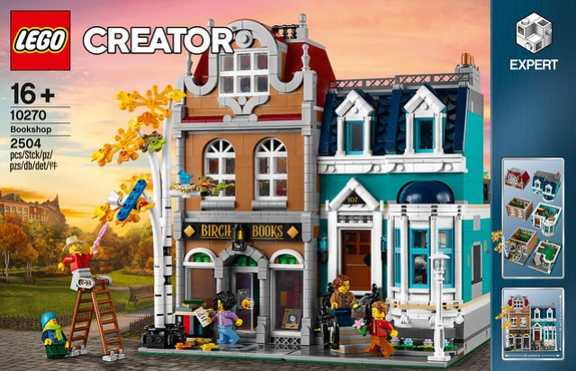 LEGO 10270 Bookshop Modular 2020