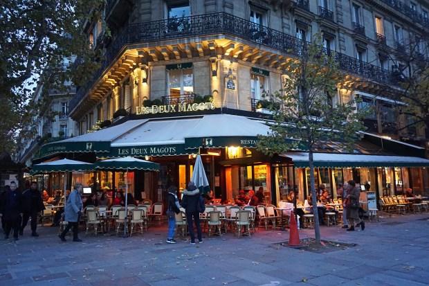 Brasserie Les Deux Magots, Paris
