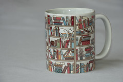 20191207 Mug with Words - the Cat's Library- in Explore