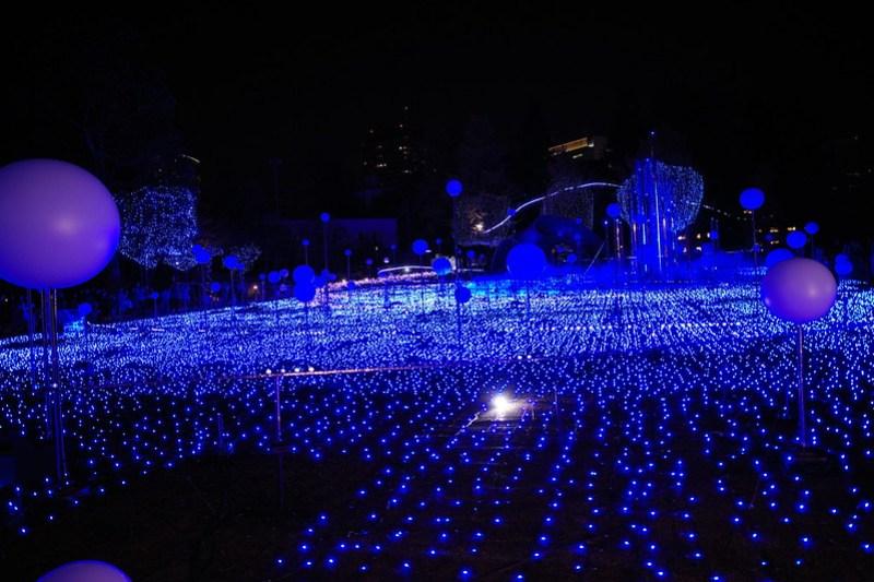 Tokyo Midtown Winter Illumination 02