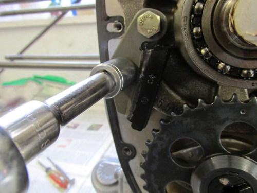 Remove Timing Chain Slider