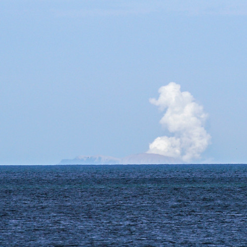 White Island erupts