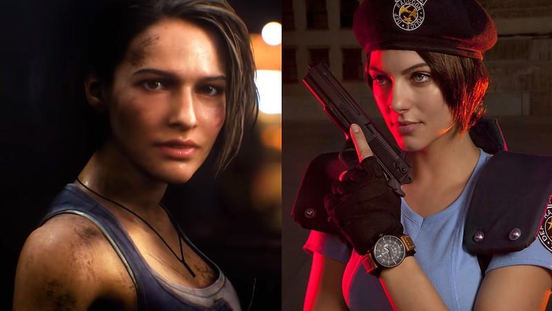 Resident Evil 3 Remake - Jill Valentine vs Julia Voth