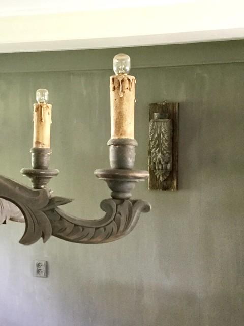 Hanglamp Hoffz kalkverf muur