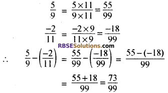 RBSE Solutions for Class 8 Maths Chapter 1 परिमेय संख्याएँ In Text Exercise-04e