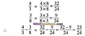 RBSE Solutions for Class 8 Maths Chapter 1 परिमेय संख्याएँ In Text Exercise-04b