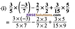 RBSE Solutions for Class 8 Maths Chapter 1 परिमेय संख्याएँ Ex 1.1 q6a